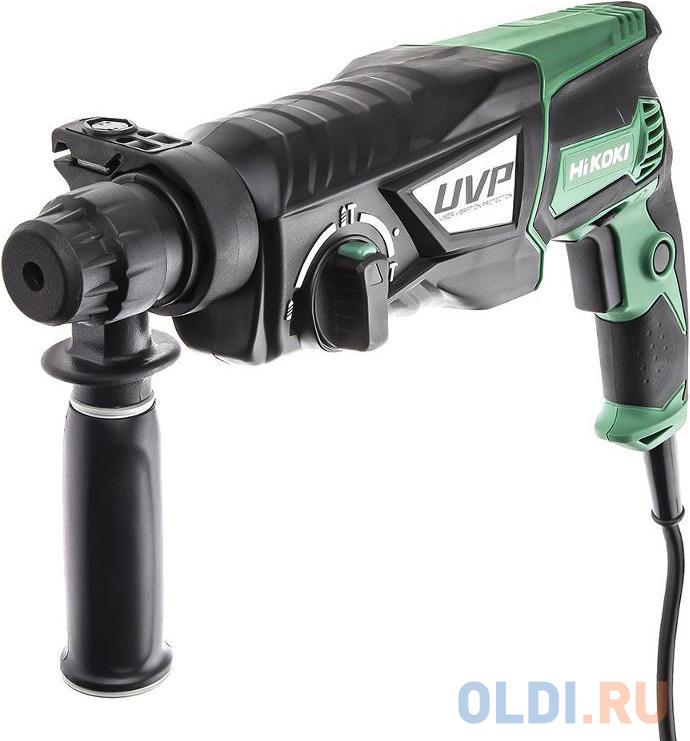 HIKOKI Перфоратор, SDS-Plus, ? 28 мм, 850 Вт, 1100-4300 об/мин, 3 режима, UVP, ручка, кейс, глубином