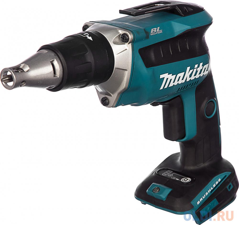 Аккумуляторный шуруповерт Makita DFS452Z аккумуляторный шуруповерт makita ddf083z 40 н·м синий черный