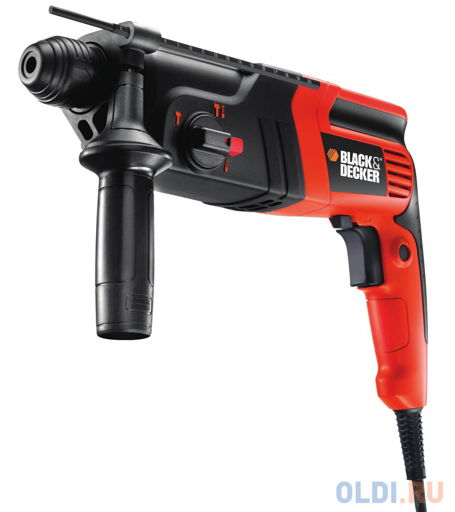Перфоратор BLACK  DECKER KD860KA-QS  sds+ 600Вт 3режима 1.6Дж.