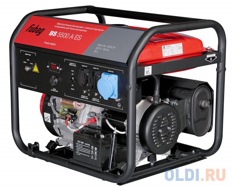 Генератор Fubag BS 5500 A ES 12.8 л.с бензиновый.