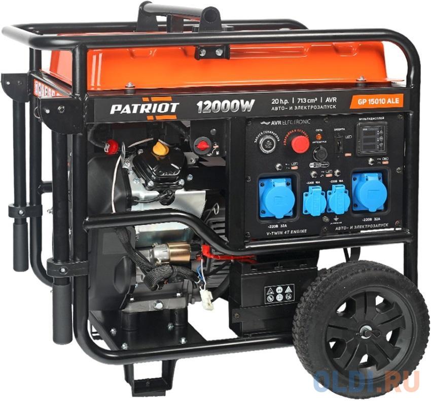Генератор бензиновый PATRIOT GP 15010ALE
