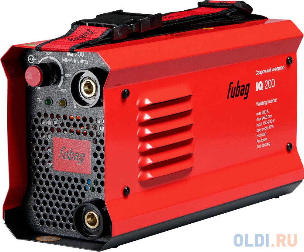 Сварочный инвертор Fubag IQ 200 38832/38078.