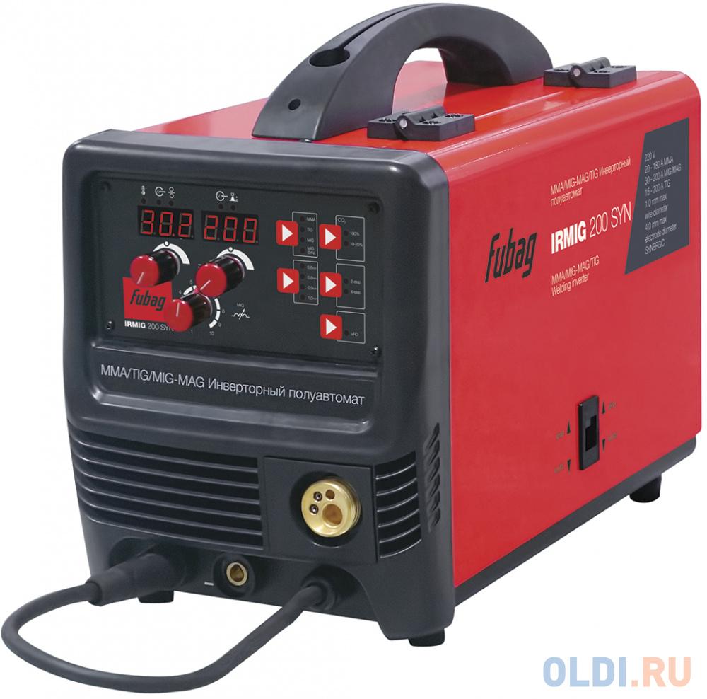 Аппарат сварочный Fubag IRMIG 200 SYN (38643) + горелка FB 250_3 м (38443).