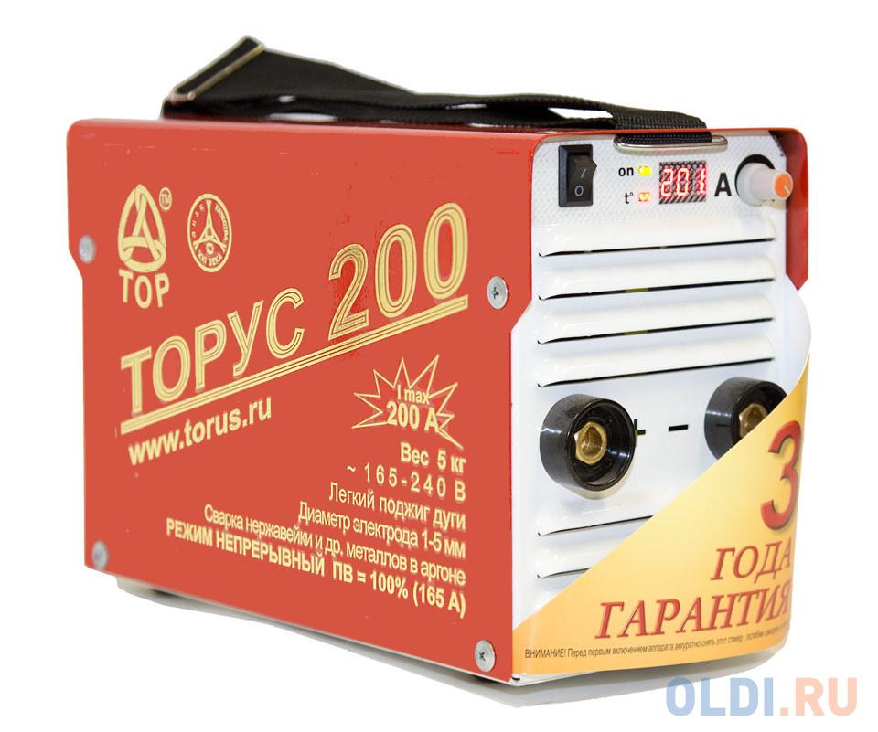 Сварочный инвертор Торус 200 НАКС