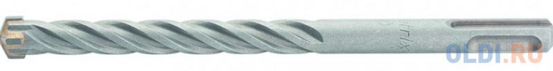Бур по бетону, 10 x 110 мм, SDS PLUS c крестовой пластиной// Matrix бур по бетону 10 x 110 мм sds plus matrix