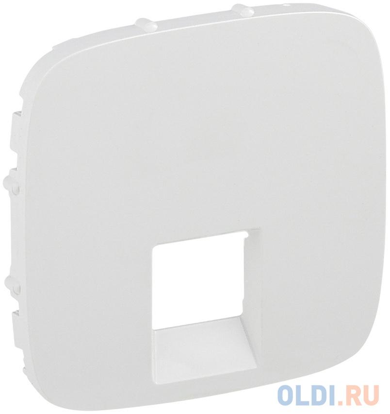 Лицевая панель Legrand Valena Allure для одиночных телефонных/информационных розеток белый 755415.