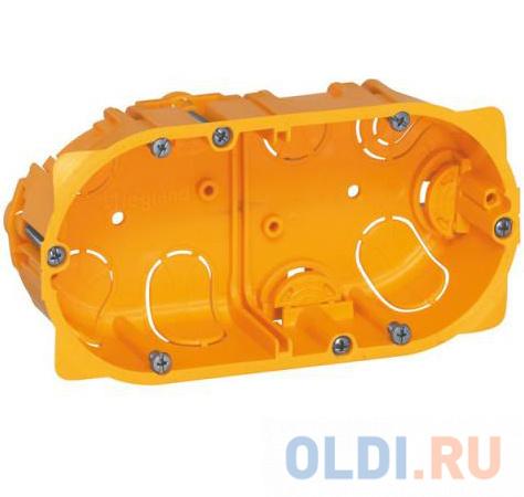 Электромонтажная коробка Legrand Batibox для сухих перегородок 2 поста глубина 40мм 80042 фото