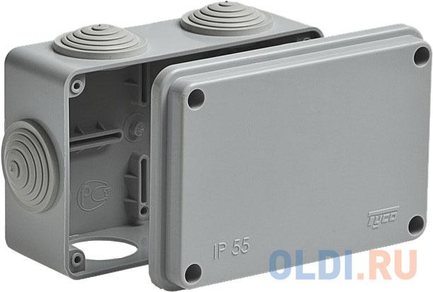 Рувинил 67051 Тусо.Коробка расп. для о/п 120х80х50мм 6 вводов IP55.