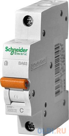 Автоматический выключатель Schneider Electric ВА63 1П 10A C 11202
