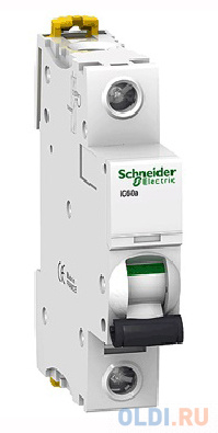 Автоматический выключатель Schneider Electric iC60N 1П 10A C A9F79110