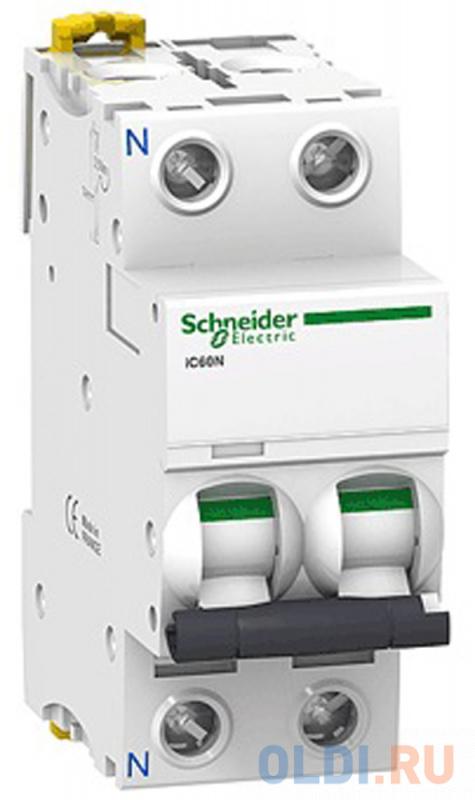 Автоматический выключатель Schneider Electric iC60N 2П 50A C A9F79250