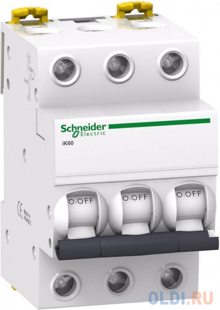 Автоматический выключатель Schneider Electric iC60N 3П 63A C A9F79363