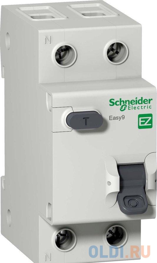 Выключатель автоматический диф. Schneider Electric EASY9 АВДТ 1П+Н 16А 30мА C AC  2DIN 2пол..