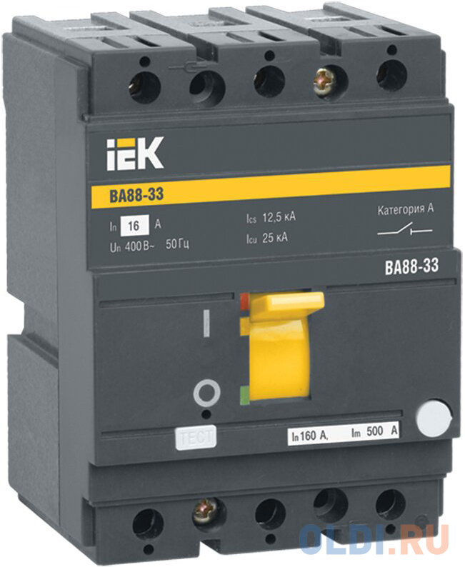 Iek SVA20-3-0032-R Авт. выкл. ВА88-33 3Р 32А 35кА IEK