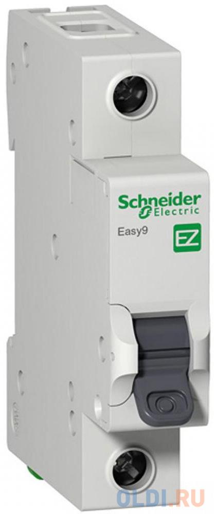 Выключатель автоматический Schneider Electric EASY9 ВА 1П 32А C 4.5кА 1DIN 1полюс 82х18мм