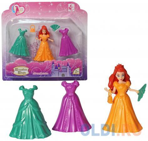 """Кукла 1Toy Красотка """"Волшебная Сказка"""" 11см с 3 платьями ..."""