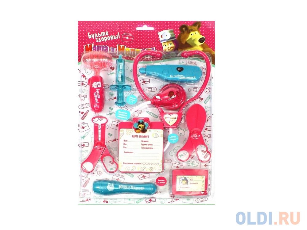 Игровой набор Маша и медведь Доктор 9 предметов 1132128 в блистере фото