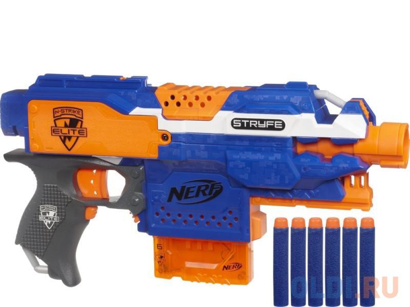 бластер Hasbro Nerf элит страйф для мальчика синий A0200