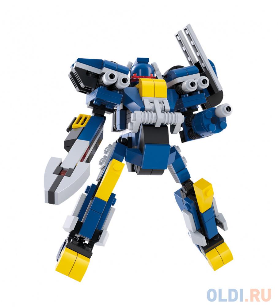 Конструктор SLUBAN Синий рыцарь-защитник 277 элементов M38-B0387.