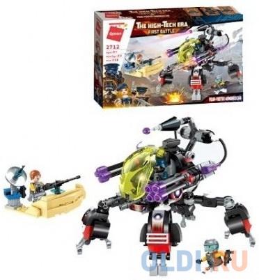 Конструктор ENLIGHTEN BRICK Военный робот 318 элементов конструктор enlighten brick военный робот 318 элементов