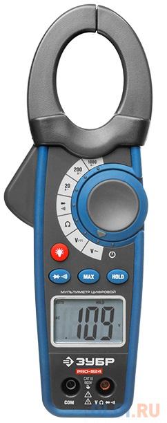 Клещи ЗУБР 59824  токоизмерительные профессионал pro-824.