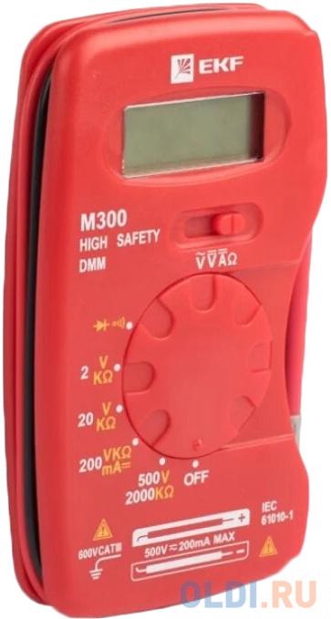 EKF In-180701-pm300 Мультиметр цифровой M300 EKF Expert