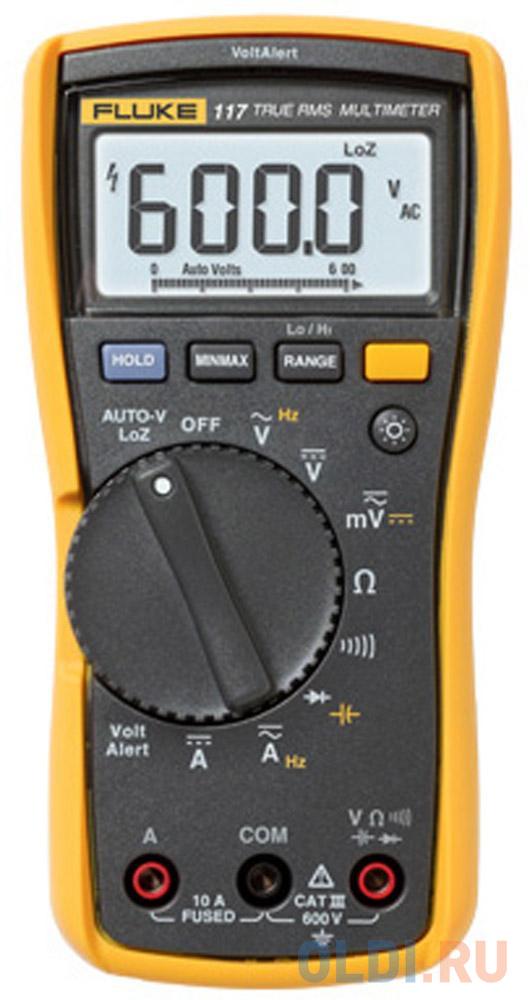 Мультиметр Fluke IG FLUKE-117 EUR недорого