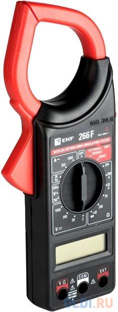 EKF In-180702-bc266F Токовые клещи цифровые 266F EKF Master