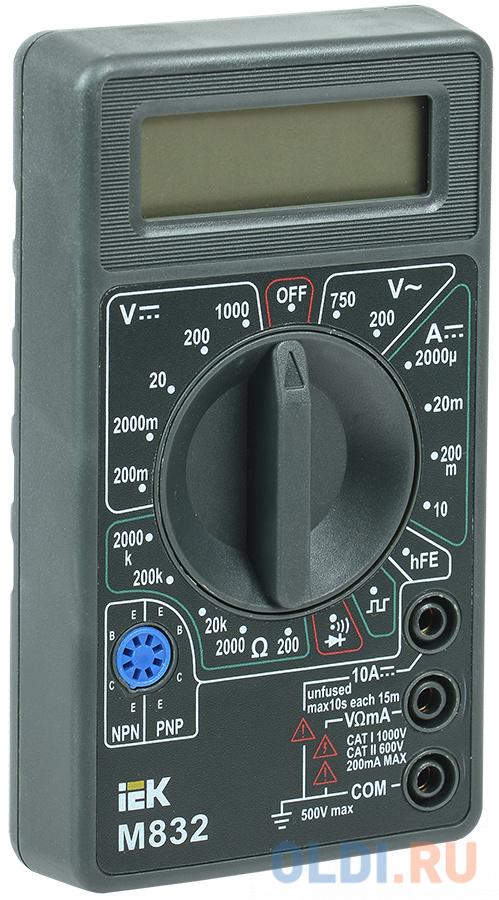 Iek TMD-2S-832 Мультиметр цифровой Universal M832 IEK