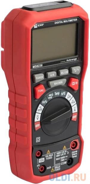 EKF In-180701-pm8236 Мультиметр цифровой MS8236 EKF Professional