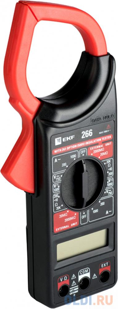 EKF In-180702-bc266 Токовые клещи цифровые 266 EKF Master