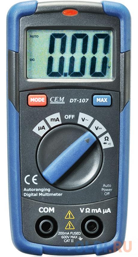 Мультиметр CEM DT-107 цифровой