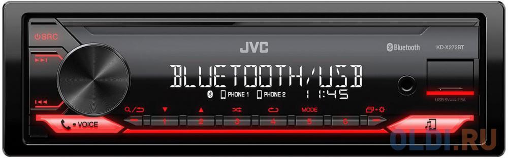 Автомагнитола JVC KD-X272BT 1DIN 4x50Вт