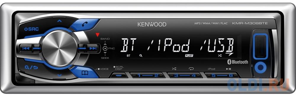 Автомагнитола Kenwood KMR-M308BTE 1DIN 4x50Вт фото