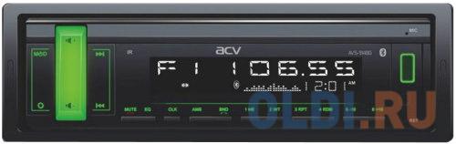 Автомагнитола ACV AVS-914BG 1DIN 4x50Вт автомагнитола acv avs 812r 1din 4x50вт