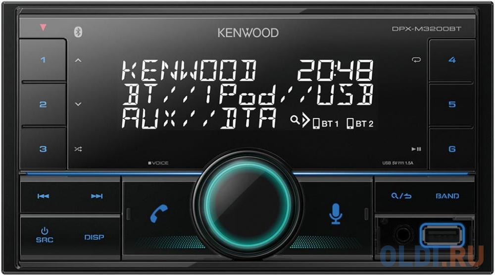 Автомагнитола Kenwood DPX-M3200BT 2DIN 4x50Вт.