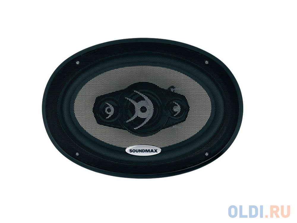 Автоакустика Soundmax SM-CSA694 коаксиальная 4-полосная 15-23см 120Вт-240Вт
