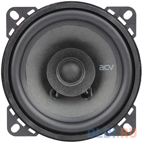 Колонки автомобильные ACV PD-401 (без решетки) 90Вт 88дБ 4Ом 10см (4дюйм) (ком.:2кол.) коаксиальные однополосные