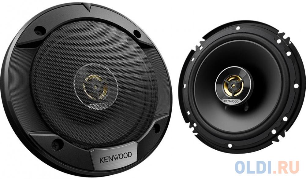 Колонки автомобильные Kenwood KFC-S1676EX 330Вт 87дБ 4Ом 16см (6.5дюйм) (ком.:2кол.) коаксиальные двухполосные.