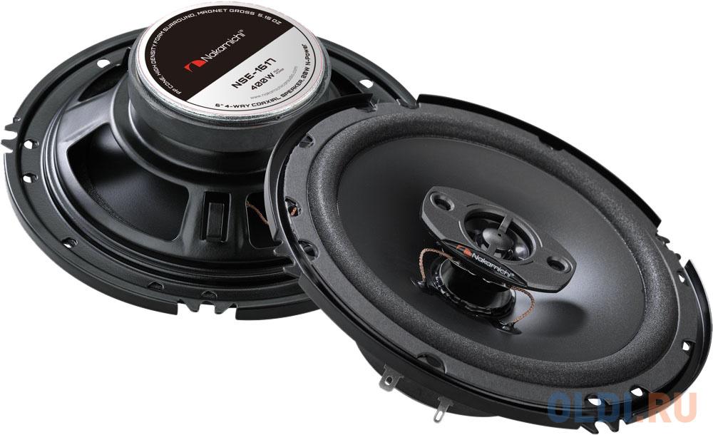 Nakamichi NSE-1617 Акустика автомобильная автомобильная акустика kicx gorilla bass gbl65
