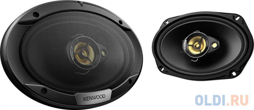 Автоакустика Kenwood KFC-S6976EX коаксиальная 3-полосная 15x23см 80Вт-500Вт