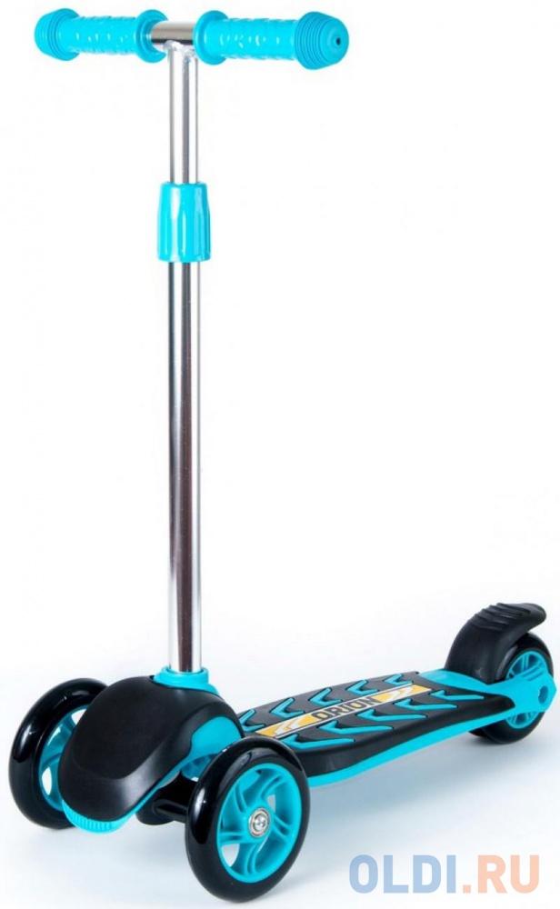 Самокат трехколёсный Y-SCOO RT TRIO 120 NEON синий