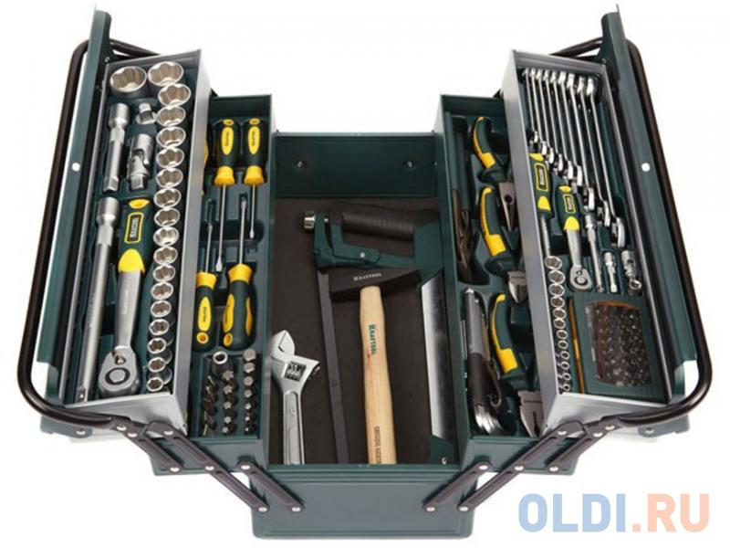 Набор инструментов Kraftool INDUSTRY 131шт 27978-H131 набор инструментов kraftool 70 предметов industry 27977 h70