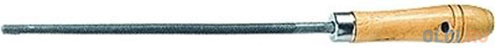 Фото - Напильник СИБРТЕХ 16126 200мм круглый деревянная ручка напильник курс 42510 набор 5шт деревянная ручка 150мм