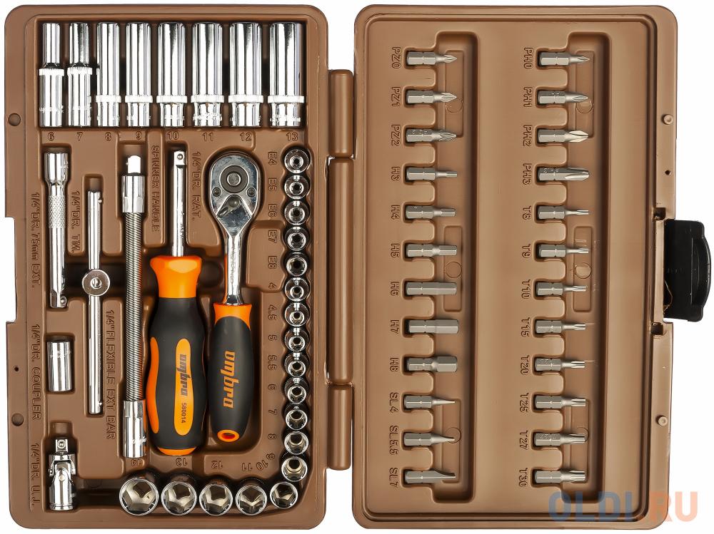 Набор инструментов OMBRA OMT57S  57 предметов.