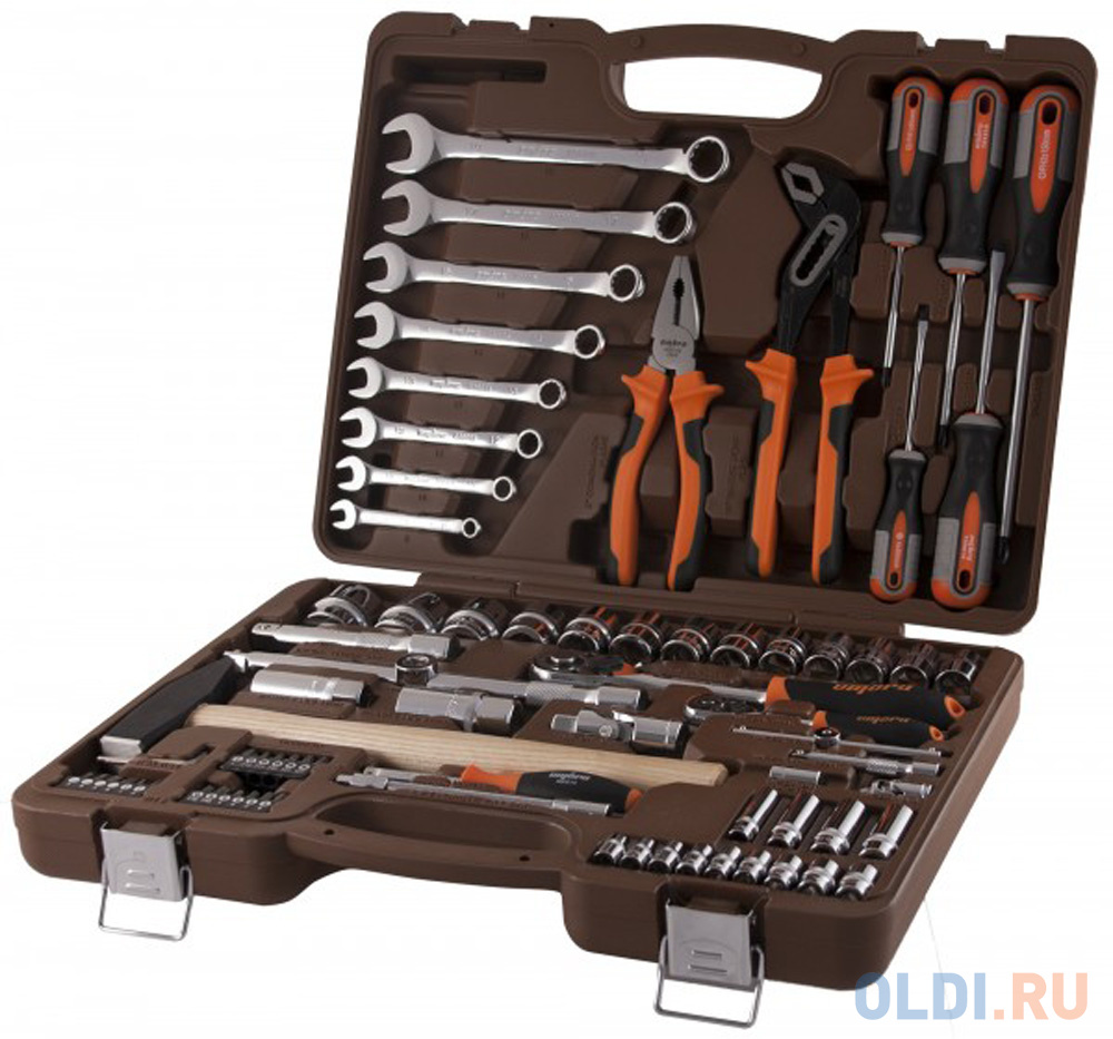 Набор инструментов OMBRA OMT77S  77 предметов.
