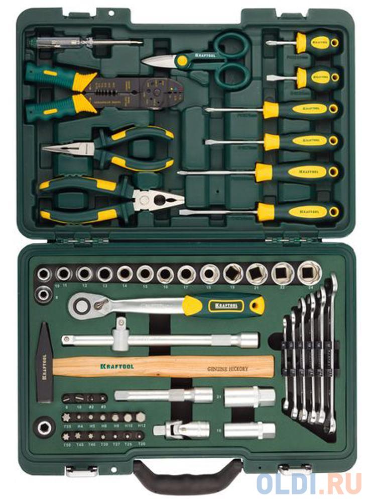 Набор инструментов Kraftool INDUSTRY 59шт 27977-H59 набор инструментов kraftool 70 предметов industry 27977 h70