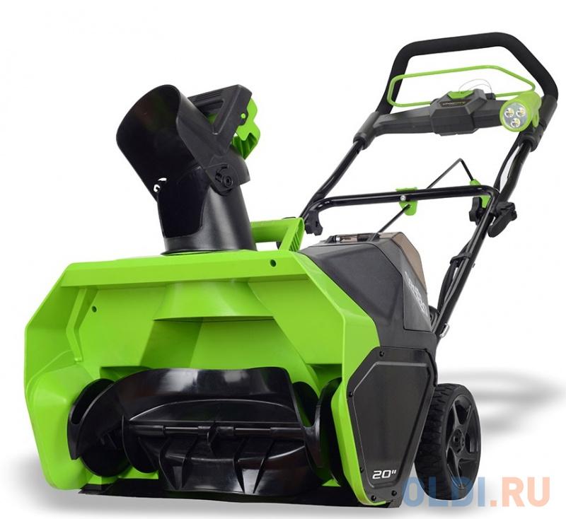 Аккумуляторный снегоуборщик Greenworks 40V G-max GD40SB без аккумулятора и зарядного устройства.