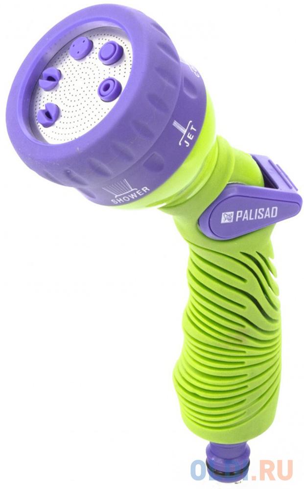 Пистолет PALISAD 65156 распылитель 6-режимный эргономичная рукоятка недорого