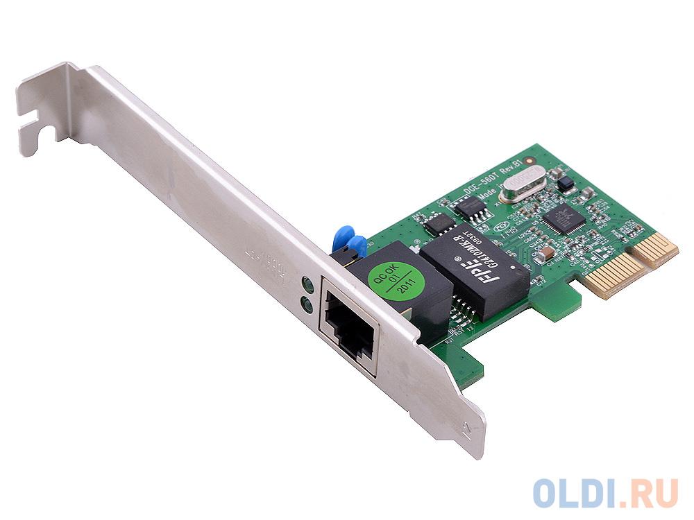 Сетевой адаптер D-LINK DGE-560T/B1B/B/C1 10/100/1000Mbps PCI-E Ethernet адаптер 64bit OEM